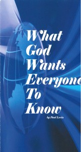 What God Everyone Wants to Know